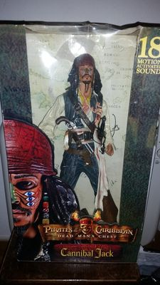 Figure Neca Cannibal Jack 18 inch Pirates of the Caribbean