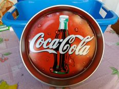 Tin tray by Coca Cola, size