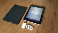 Apple iPad 1, 64GB with 3G. With original Apple cover and Charger