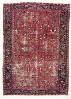 Vintage Persian semi-antique Heriz, 329 x 240 cm