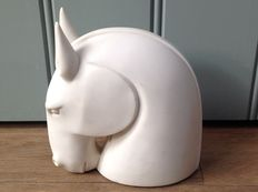 Art Deco figurine of a horse head