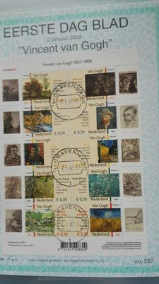 The Netherlands 1981/2003 -Collection of First Day Cover sheets  Visje 1/297