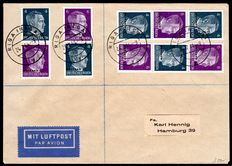 """Ostland 1941 - """"Hitler postal stamp combinations complete from automatic rolls"""" - Michel S1 / S4"""