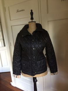 Kencoh - Burberry - quilted - stitched - lightweight - coat - jacket 38 (NL)