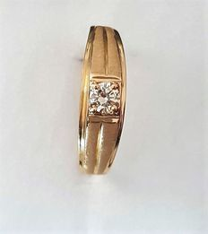 21.6k Yellow Gold ring