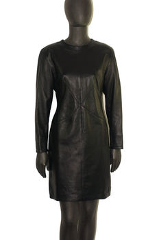 Fendi - Leather Dress