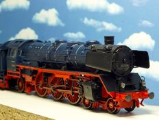 Märklin H0 - 37955-01 - Steam locomotive with tender BR 03.10 of the DB, blue