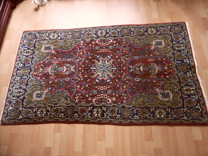 Hand-knotted Persian carpet, Ghorum, 184 x 105 cm - Iran - approx. 1980