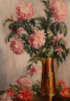 Unknown (19th/20th century) - Flower still life
