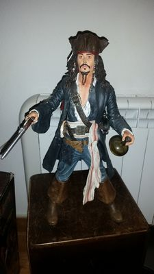 Figure Neca 18 inch Captain Jack Sparrow Pirates of the Caribbean