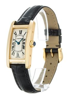Cartier Tank Américaine Ref. W2601556 - Women's watch