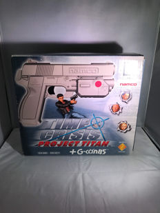 Time Crisis Project Titan + G-con 45 complete boxed. Psx