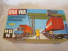 Brawa H0 - 1162 - Operating Container Terminal