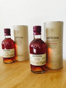 2 bottles - Aberlour A'Bunnahd batch No. 54 in original tin