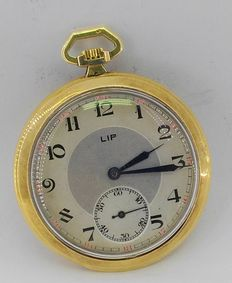 18 kt – LIP – Pocket watch – Circa 1900 approx
