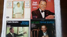 Nine Great Albums, Including 1 Doublealbum By Frank Sinatra, In Very Good Condition!