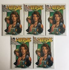Witchblade #12 - Live! - Special limited series - Oplage: 100 ex., dit is nr. 57 - 5x sc - (1997)