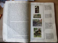 "1 collectible picture album ""The German army in the manoeuvres"" 1936"