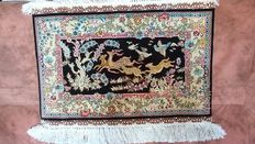 Hand knotted Turkish rug- 44x62 cm- From Turkey - Around 2016