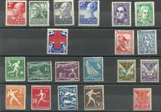 The Netherlands 1925/1928 - Selection of series and stamps