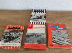 "Reference work - 41 booklets of ""Miniatuur banen"", of which 3 years complete: 1963, 1976 and 1979"