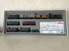 "Märklin H0 - 4789 - Carriage unit of the DSB ""wagenverband"""