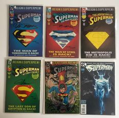Superman - 6x limited and signed editions - 6x sc - (1993 / 1997)