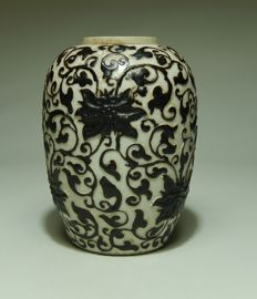 Special Nanjing style vase – China – late 19th century