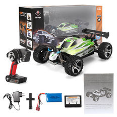 Radio controlled car Wltoys A959 B1 - 1/18 Scale - 4x4 - 70 km/h - hydraulic shock absorbers - Waterproof