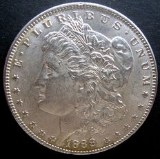 "United States - 1 Dollar ""Morgan"" 1888 – Silver"