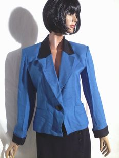 Yves Saint Laurent – Royal blue jacket
