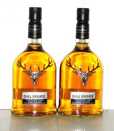 2 bottles - Dalmore 2006 10 years old - Highland - 70cl - 46%