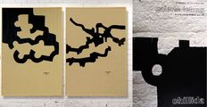 Eduardo Chillida -  Three titles: Mármol y Plomo - Composition II - Composition
