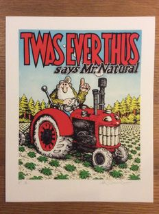 Robert Crumb - Piëzografie - Twas ever thus says Mr. Natural - (2013)