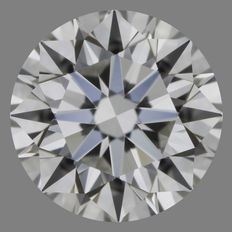 1.01 ct brilliant cut, G-VS2
