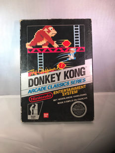 Nes Black Box Donkey Kong hol/fra version - Rare