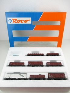 Roco H0 - 44002 - Eight carriages of the DB