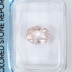 Morganite – 1.93 ct – no reserve price