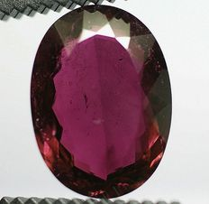Tourmaline - purple - 19,25 ct