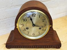 Lovely table clock/mantle clock Napoleon's Hat by Mauthe - 1st half 20th century