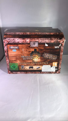 Nintendo Wii Monster Hunter Tri Ultimate Hunter Pack - Hard to Find