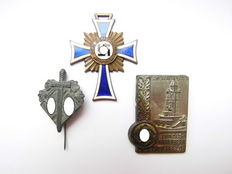 Third Reich - 3 Various Orden and Badges