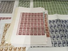 Spain – Colonies – 1955/1960 – lot of complete sets on sheets