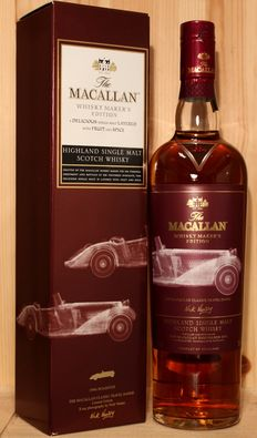 The Macallan classic travel range, 1940s Roadster, Limited Edition, Nick Veasey