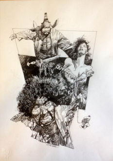 Toppi, Sergio - Original illustration