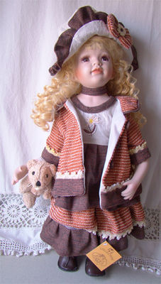Collectable porcelain doll - RF Collection - Germany