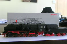 Märklin H0 - 39161 - Franco-Costi freight locomotive 42.90 with pulled tender executed with Wagner smoke deflectors of the DB