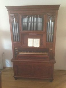 House pipe organ 4 voices Builder Bahlman +/- 1980