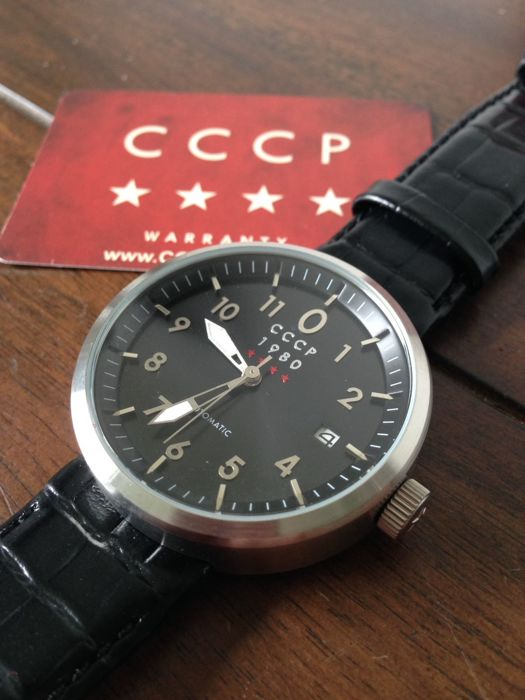 CCCP Kashalot Dress Automatic - Herenpolshorloge - 2017