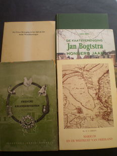 Friesland; Lot with 5 books about Frisian history - 1941/1993